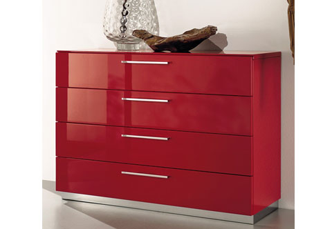 Chest Of Drawers Mm Mdf Glossy Lamination